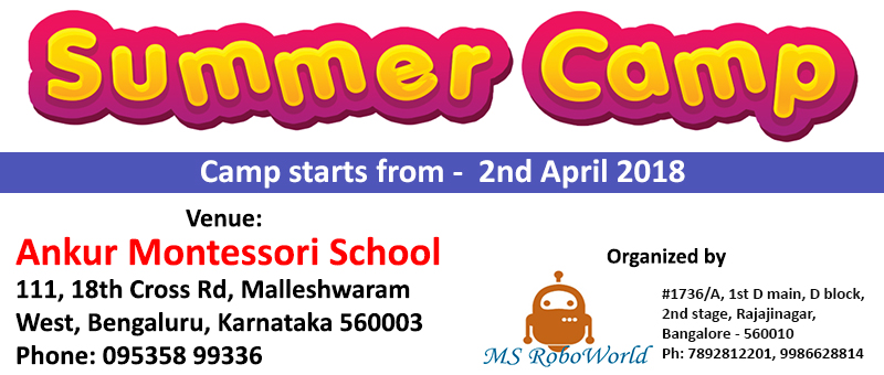 summercamp-Ankur Montessori